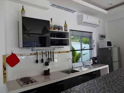 Galerie photos de villas et maisons pour vacances koh for Accessoire cuisine equipee